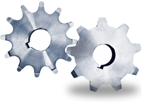 Gear representing business processes